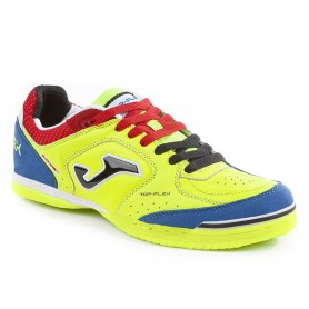 SCARPE TOP FLEX GIALLO FLUO INDOOR