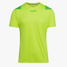 X-RUN SS T-SHIRT GIALLO FLUO