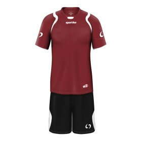SET LIONE M/C BORDEAUX-BIANCO
