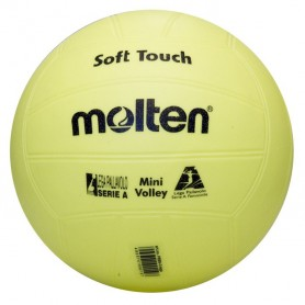 PALLONE MINIVOLLEY IN GOMMA - SOFT TOUCH