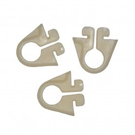 GANCI IN NYLON PER RETI